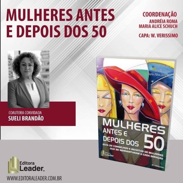 Acadêmica Sueli Brandão lança livro em São Paulo