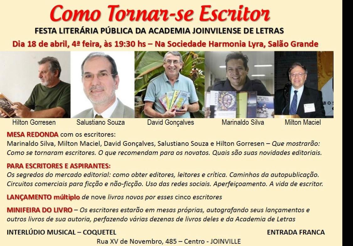 Festa Literária da Academia Joinvilense de Letras