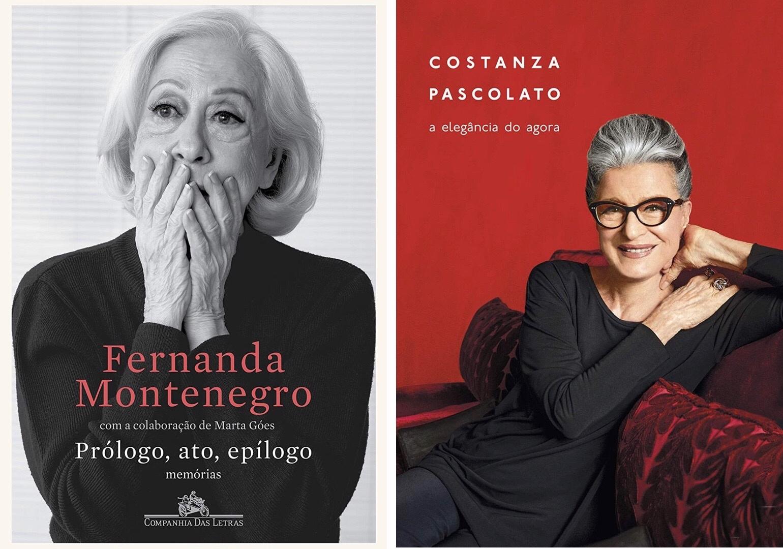 Ac. Simone Gehrke leu Fernanda Montenegro e Constanza Pascolato